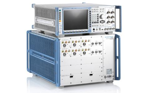 Validierte 5G IMS test cases now on the R&S CMX500 and R&S CMX500, Image: Rohde & Schwarz