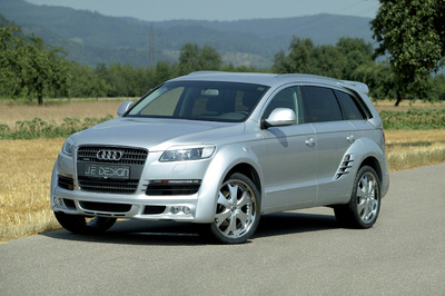 Imposanter Renn-SUV: Audi Q7 mit Wide Body-Kit von JE DESIGN