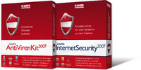 G DATA InternetSecurity 2007 und AntiVirenKit 2007