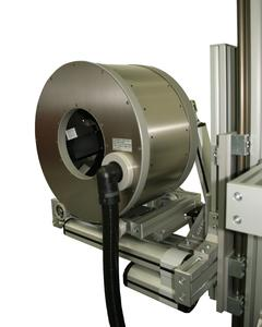 The measuring head of the new DHP systems is mounted on rails and follows the movements of the through-running profile.