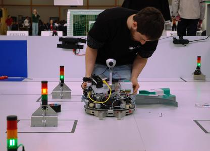 At the RoboCup World Championship 2011 in Istanbul, competitors will have to solve real tasks from the world of production and logistics in the Festo Logistics Competition