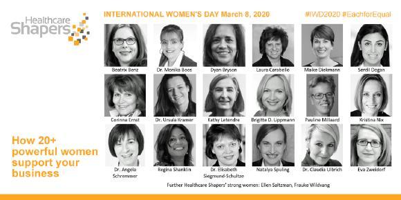 Starke Frauen im Netzwerk der Healthcare Shapers