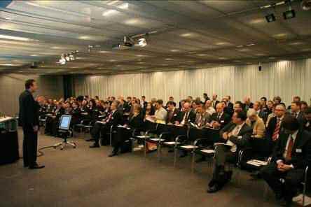 Philipp Sander, Mitglied der Geschäftsleitung der Scalaris AG, führte durch das Programm des dritten Scalaris GRC Day