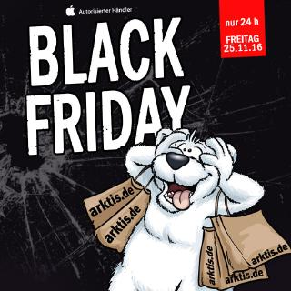 Großer Arktis.de Black Friday am 25. November 2016
