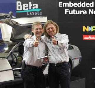 Managing Directors of Beta LAYOUT GmbH: Gernot Seeger and Arne Hofmann