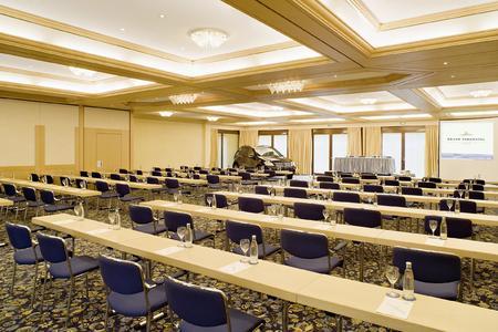 Groß, vielseitig und modern ausgestattet – die Tagungsräume des Kranz Parkhotels lassen keine Wünsche offen