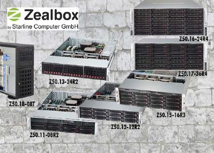 Die effiziente Zealbox-Familie Z50 von Starline