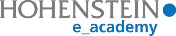 Mit der Hohenstein e_Academy bieten die Hohenstein Institute ihren Kunden einen weiteren Service zur Weiterbildung an. ©Hohenstein Institute