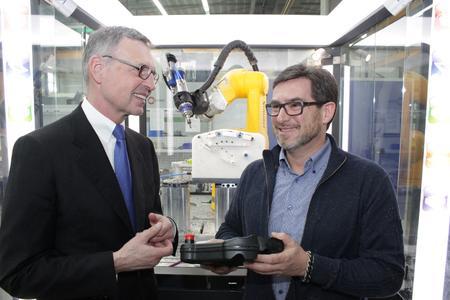 BU 2 Der Robotik-Bereich hat sich erst kürzlich aus dem Engineering heraus entwickelt