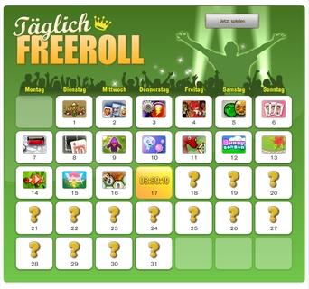 Jetzt täglich: FreeRolls bei King.com