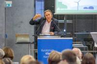 Prof. Dr. Harald Welzer fordert mehr Utopien und einen positiven Blick auf die Zukunft