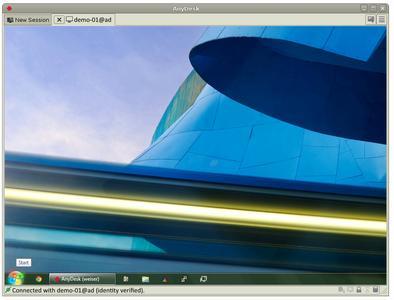Screenshot AnyDesk für Linux_2