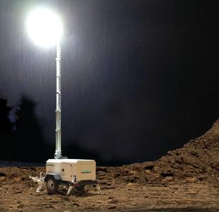 LED Lichtmast in Miningausführung