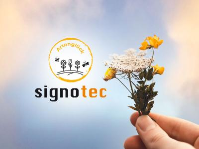 Preserving the species, preparing the future: signotec's flowering field