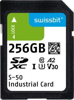 Die industrietaugliche Swissbit-S-50-SD-Karte, Bildquelle: Swissbit