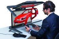 Der neue VR PluraView, ein einzigartiges Desktop VR/AR System, revolutioniert das 3D-Arbeiten im CAx- Umfeld und bringt Virtual Reality in die Konstruktion