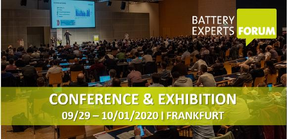 Battery Experts Forum 2020