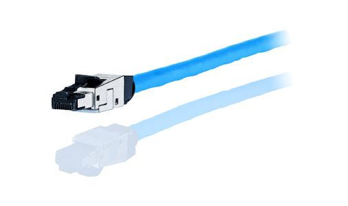 Neuer leistungsfähiger C6A RJ45 field plug pro von METZ CONNECT