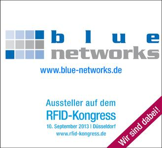 blue networks präsentiert Lokalisierungslösungen auf dem RFID-Kongress.