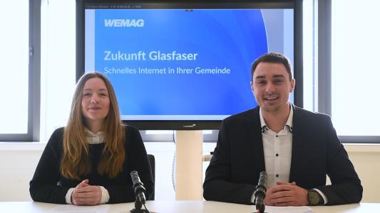 Die WEMAG hat eine digitale Version ihrer Einwohnerversammlung zum geförderten Breitbandausbau erstellt. Das Video ist auf der Internetseite des Unternehmens abrufbar. Foto: WEMAG/skrmedia