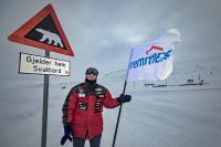 Joey auf Spitzbergen
