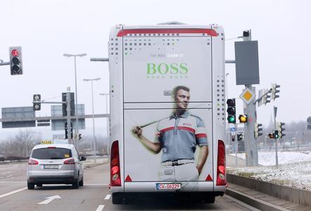 Schuler Promotion Trailer Hugo Boss (Photo: Thomas Kiel and LIGANOVA)