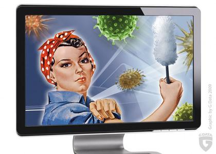 G Data ruft zum Großreinemachen 2012 bei PC, Smartphone und sozialen Netzwerken auf