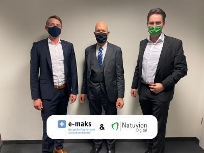 Natuvion Digital bekommt mit E-MAKS strategischen Partner als Gesellschafter