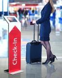 TabLines Design Bodenständer Check-In Flughafen