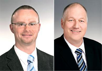 Von links nach rechts: Peter Reining (Key-Account Brandschutz), Ulrich Lankes (Bezirksleiter Mitte-West)