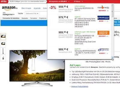 Avira Sparberater - mit Sicherheit zum besten Online-Deal