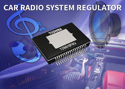 Toshiba stellt einen Power-Management-IC für Fahrzeug-Audiolösungen vor