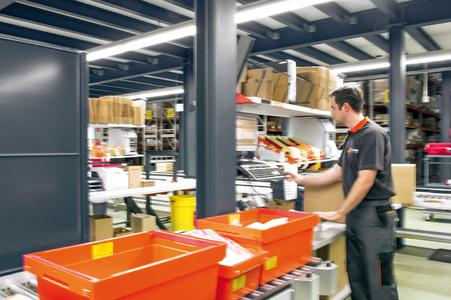 In the first phase, the location of trans-o-flex Logistik-Service in Alzenau enables dm-drogerie markt to benefit from a capacity for up to 5,000 online orders per day. The service provider has already secured an additional area, which could make it possible to double the storage capacity