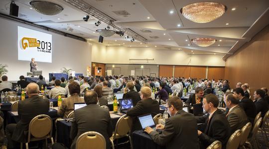 275 Teilnehmer aus dem Maschinen- und Anlagenbau informierten sich auf dem User Meeting in Salzburg über Neuheiten aus dem Hause B&R.