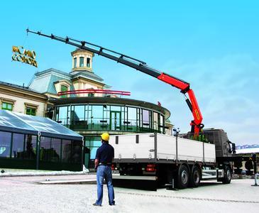 BAUMA 2010: Weltpremiere für die Super-HPLS Kranmodellreihe aus dem Hause PALFINGER