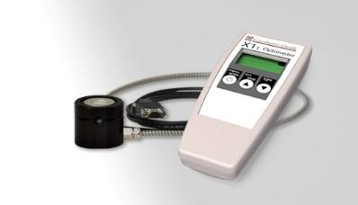 X1-1-UV-3727 Radiometer – präzise Messung der von Excimer-Lampen (bei 222nm) erzeugten UVC-Bestahlungsstärke und daraus resultierender Dosis
