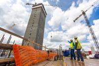 thyssenkrupp Elevator US testtower construction credit Ron Acord