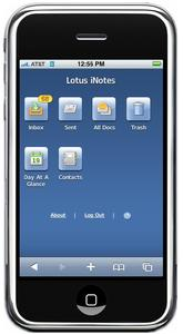 Tomorrow at Work: IBM Lotus Notes and Domino Expands to New Markets With iPhone(TM), Security Software