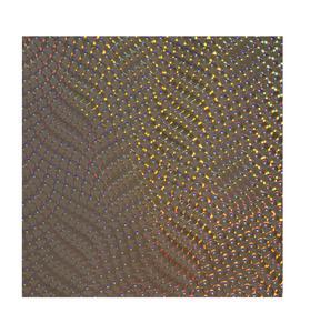 Endlosdesign, bei dem linsenartige Lichtreflexe in ein Reptilienmuster eingearbeitet sind