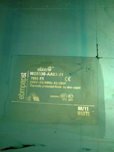 Gefälschte Druckplatte zur Erstellung von Markenlabels