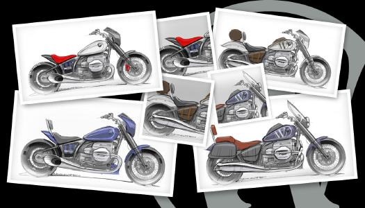 Some sketches by Wunderlich's designer Nicolas Petit