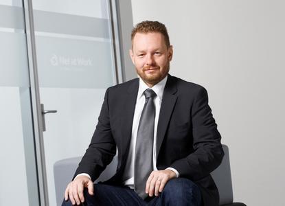 Marcin Wardzinski (41) verstärkt ab sofort als Senior Key Account Manager das Vertriebsteam von Net at Work