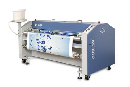 The AquaSEAL AS 1600 lets you apply water-based varnishes to a whole host of different media