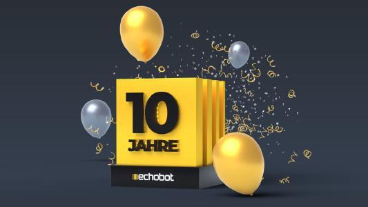Echobot feiert 10-jähriges Jubiläum.