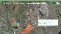 Luftansicht der Quiulacocha-Absetzteiche in Cerro de Pasco; Foto: Cerro de Pasco Resources