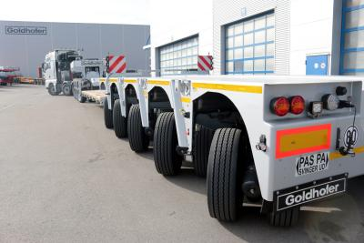 STZ-VP (285): Goldhofer's big boy among the semi lowloaders – Easy. Extreme. Flexible.