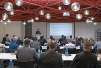 Mehr als 50 Spezialisten aus Europa, Asien und den USA trafen sich im Fraunhofer LBF zur UC 14 – Users Conference on Biaxial Fatigue Testing, der 14. Anwenderkonferenz für zweiaxiale Betriebsfestigkeitsversuche für Räder, Radnaben und Radlager / Foto: Fraunhofer LBF/Döberl