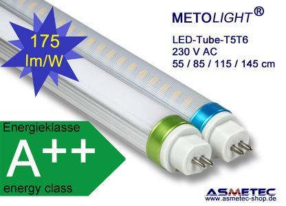 Metolight LED T5T6 Röhren mit bis zu 175lm/W