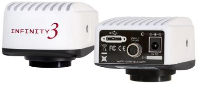 Brand New INFINITY3 USB3.0 Research-Grade Microscopy Camera from Lumenera