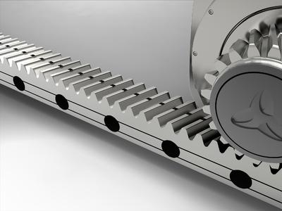 Revolutionary feeding forces: the new linear system from WITTENSTEIN alpha unites the company's traditional expertise in transmission engineering, gearing technology and sizing of complete drive trains in a mechatronic system solution that is the only one of its kind in the world